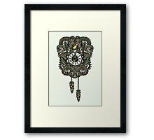 Cuckoo Clock Nest Framed Print