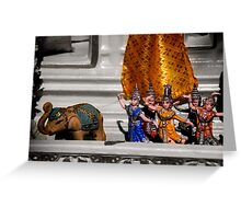 Figurines Greeting Card