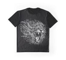 Angry Lion Graphic T-Shirt
