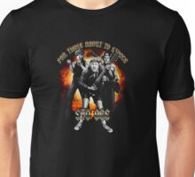 Stooge : For Those About To Stooge Unisex T-Shirt