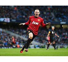 Wayne Rooney - The Captain Photographic Print