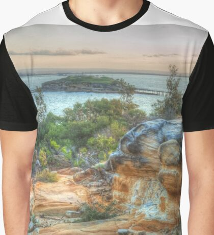 View To Bare Island Graphic T-Shirt