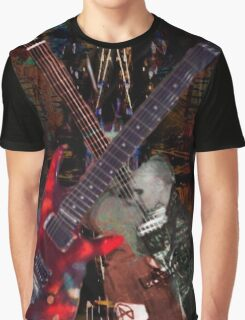 Guitar Rock Series Graphic T-Shirt