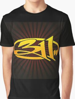 311 BAND LOGO Graphic T-Shirt