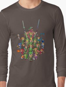 The Legend of Zelda 30th anniversary Long Sleeve T-Shirt