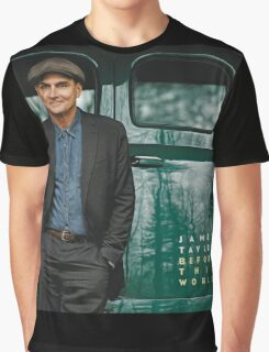 JAMES TAYLOR BEFORE THIS WORLD 2016 TOUR Graphic T-Shirt