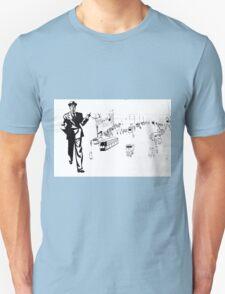 Back to twenties nostalgic fashion and style. Unisex T-Shirt