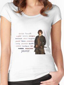 Outlander/Jamie is... Women's Fitted Scoop T-Shirt