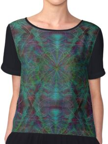 Psychedelic Chiffon Top