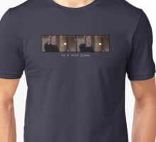 In a thin glass Unisex T-Shirt