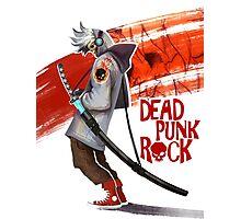 Dead Punk Rock Photographic Print