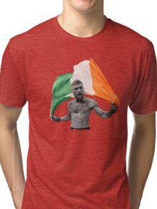 Conor McGregor UFC Fighter Irish Tri-blend T-Shirt