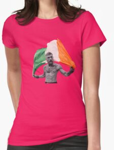 Conor McGregor UFC Fighter Irish Womens Fitted T-Shirt