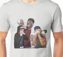 Naruto, Killer B and Gaara Unisex T-Shirt