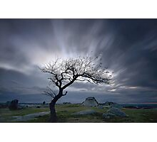 Moving Clouds - Dog Rocks Photographic Print