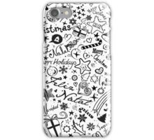 Merry Christmas Multiple Languages iPhone Case/Skin