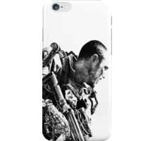 Armed soldier iPhone Case/Skin