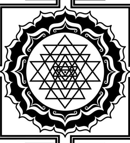 Shri Yantra - Cosmic Conductor of Energy Sticker