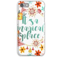 Tahiti. It's a Magical Place.  iPhone Case/Skin