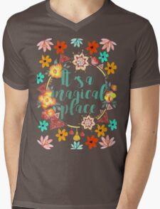 Tahiti. It's a Magical Place.  Mens V-Neck T-Shirt