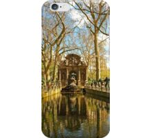 The Medici Fountain in Spring iPhone Case/Skin