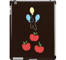 My little Pony - Applejack + Pinkie Pie Cutie Mark V2 iPad Case/Skin