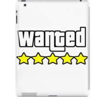 Grand Theft Auto - Wanted iPad Case/Skin