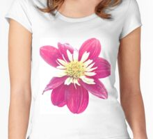 Dahlia Flower 2 Women's Fitted Scoop T-Shirt