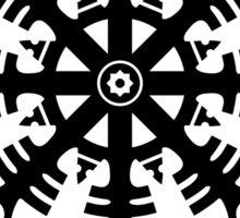 Helmet of awe - Aegishjalmur No.2 (black) Sticker
