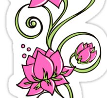 Lotus Flower Symbol Wisdom & Enlightenment Buddhism Zen Sticker