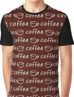 Coffee seamless pattern Graphic T-Shirt