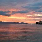 Dusk at Adriatic Sea by Arie Koene