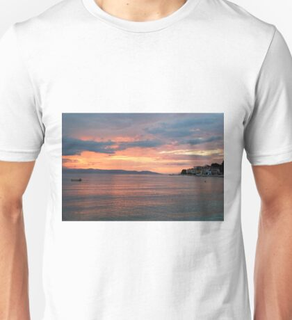 Dusk at Adriatic Sea Unisex T-Shirt
