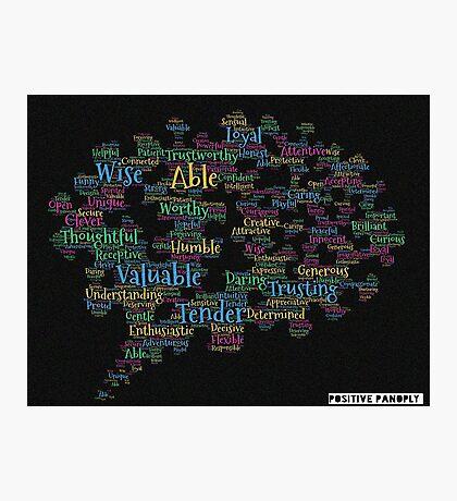 The brain. Photographic Print