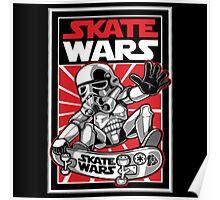 Wars Skateboard Poster