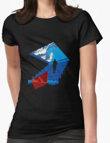 BOATING DREAM Womens Fitted T-Shirt