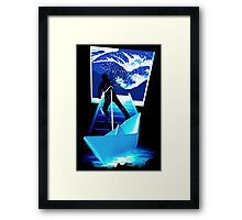 BOATING DREAM Framed Print