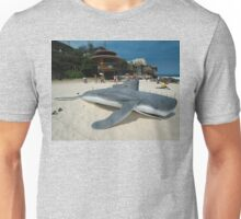 Beached Submarine Life @ Sculptures By The Sea Unisex T-Shirt