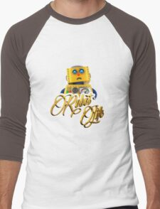 Robot Life Men's Baseball ¾ T-Shirt