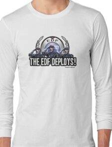 Earth Defense Force The EDF Deploys!  Long Sleeve T-Shirt