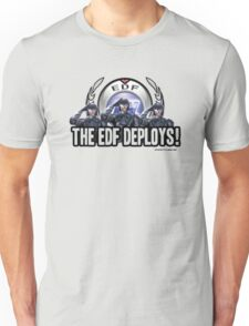 Earth Defense Force The EDF Deploys!  Unisex T-Shirt