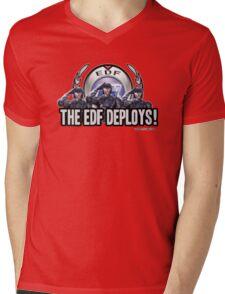 Earth Defense Force The EDF Deploys!  Mens V-Neck T-Shirt