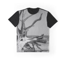 Toppled Tree Graphic T-Shirt