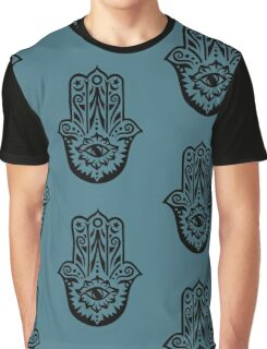 Hamsa - Hand of Fatima, protection symbol Graphic T-Shirt