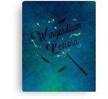 Wingardium Leviosa - Harry Potter Canvas Print