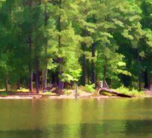 Lake Landscape Sticker