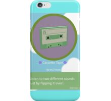 Katamari - Cassette tape from Beautiful Katamari iPhone Case/Skin