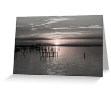 Sunset on the Bay 5 Greeting Card
