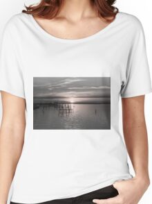 Sunset on the Bay 5 Women's Relaxed Fit T-Shirt