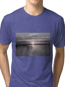 Sunset on the Bay 5 Tri-blend T-Shirt